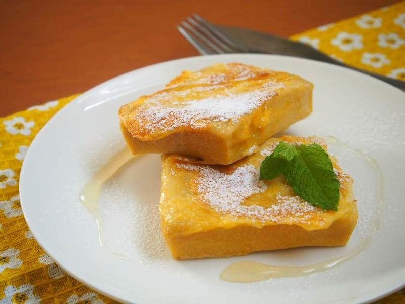 低糖質な高野豆腐のフレンチトースト