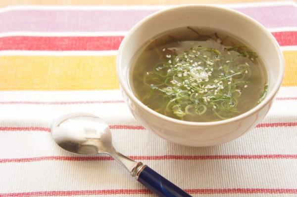 ネバネバ海藻スープ